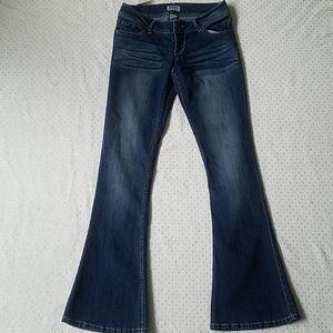 Mudd Flare Leg Jeans Blue sz 7